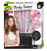 LENA® 42433 - Body Tattoo, Funkelnde Körperstifte, Bastelset