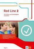 Red Line 2. Klasse 6. Ausgabe Bayern. Fit für Tests und Schulaufgaben mit CD-ROM
