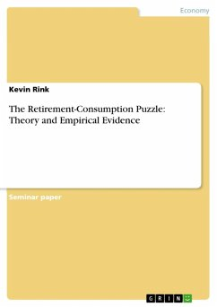 The Retirement-Consumption Puzzle: Theory and Empirical Evidence (eBook, ePUB) - Rink, Kevin