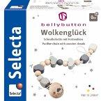 Selecta 64006 - bellybutton, Wolkenglück, Schnullerkette, Holz, grau, 21 cm