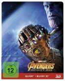 Avengers: Infinity War 3D, 2 Blu-ray (Steelbook)