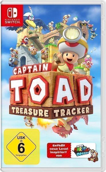 captain toad treasure tracker nintendo switch games. Black Bedroom Furniture Sets. Home Design Ideas