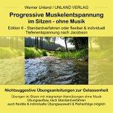 Progressive Muskelentspannung im Sitzen - ohne Musik (MP3-Download)