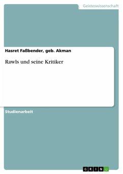Rawls und seine Kritiker (eBook, ePUB)