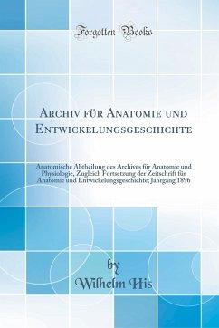 Archiv für Anatomie und Entwickelungsgeschichte