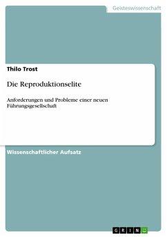 Die Reproduktionselite (eBook, ePUB)