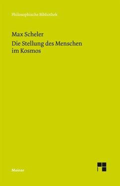 Die Stellung des Menschen im Kosmos (eBook, PDF) - Scheler, Max