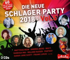 Die Neue Schlager Party,Vol.5 (2018) - Diverse