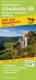 PUBLICPRESS Rad- und Wanderkarte Biosphärengebiet Schwäbische Alb, Bad Urach - Münsinger Alb