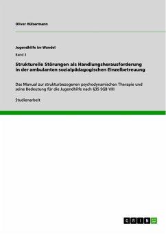 Strukturelle Störungen als Handlungsherausforderung in der ambulanten sozialpädagogischen Einzelbetreuung (eBook, ePUB)
