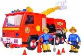 Simba 109251036 - Feuerwehrmann Sam Jupiter 2.0 - Feuerwehrauto mit 2 Figuren