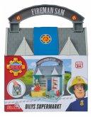 Simba 109251031 - Feuerwehrmann Sam, Dily's Supermarkt mit 2 Figuren