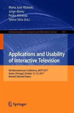 Applications and Usability of Interactive Telev...