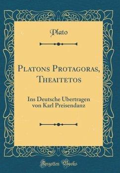 Platons Protagoras, Theaitetos