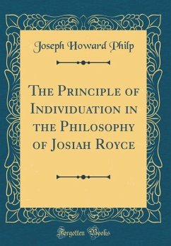 The Principle of Individuation in the Philosoph...