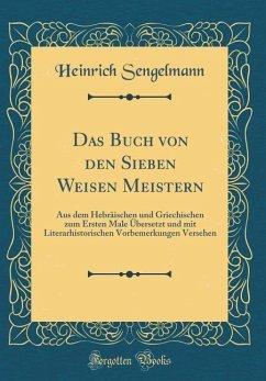 Das Buch von den Sieben Weisen Meistern