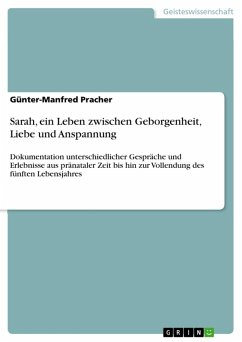 Sarah, ein Leben zwischen Geborgenheit, Liebe und Anspannung (eBook, ePUB) - Pracher, Günter-Manfred