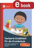 Textsorte Erzähltext für die Grundschule (eBook, PDF)