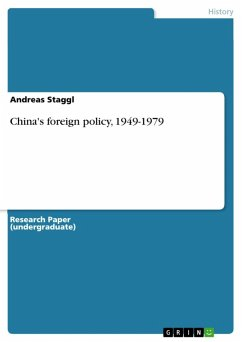 China's foreign policy, 1949-1979 (eBook, ePUB)