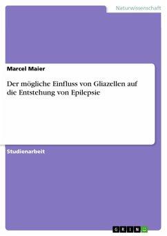 Der mögliche Einfluss von Gliazellen auf die Entstehung von Epilepsie (eBook, ePUB)