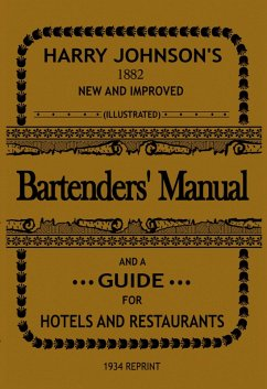 Bartenders' Manual (eBook, ePUB) - Johnson, Harry