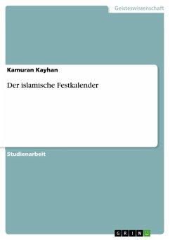 Der islamische Festkalender (eBook, ePUB)