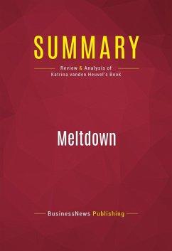 Summary: Meltdown (eBook, ePUB) - Publishing, Businessnews