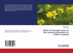 Effect of drought stress in the various paramet...