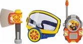 Simba 109252235 - Feuerwehrmann Sam, Rettungsset, Sauerstoffmaske