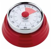 Legami Magnetic Kitchen Timer - Red