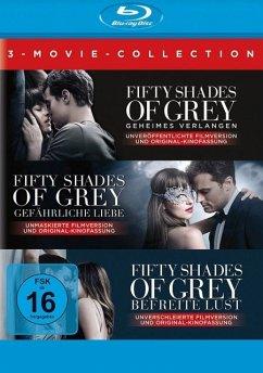 Fifty Shades of Grey - 3 Movie - Collection - Dakota Johnson,Jamie Dornan,Kim Basinger