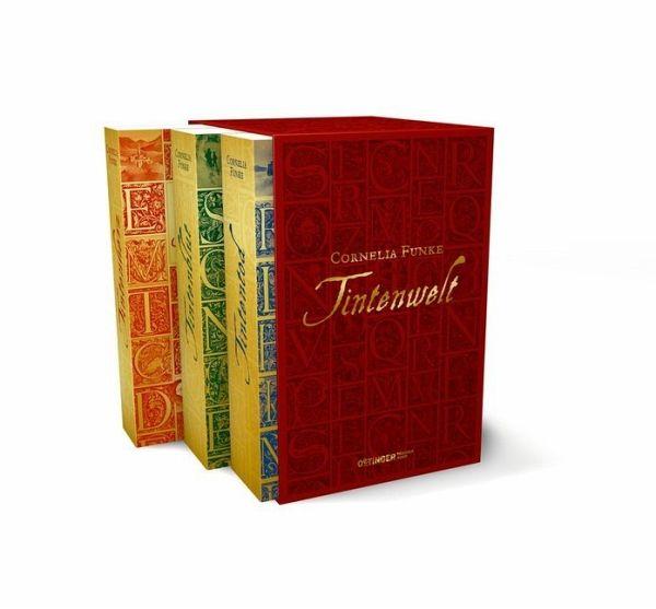 Tintenwelt-Schuber / Tintenwelt Trilogie Bd.1-3