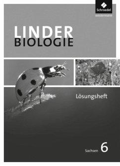 6. Schuljahr, Lösungen zum Arbeitsheft / Linder Biologie SI, Ausgabe Sachsen