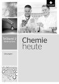 Chemie heute SI. Lösungen Teilband 2. Niedersachsen