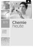 Chemie heute 8 / 9. Lösungen. Nordrhein-Westfalen