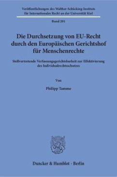 Die Durchsetzung von EU-Recht durch den Europäi...