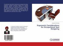 Ergonomic Considerations for Occupational Seat Designing