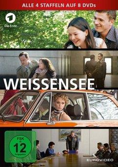 Weissensee - Alle vier Staffeln auf 8 DVDs (8 Discs)