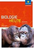 Biologie heute SII. Lösungen. Gesamtband. Nordrhein-Westfalen
