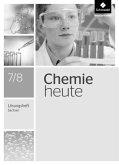 Chemie heute SI 7 7 8. Lösungen Arbeitsheft. Sachsen