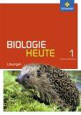 Biologie heute SI 1. Lösungen. Nordrhein-Westfalen