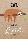 Magnet: Eat. Sleep. Repeat.