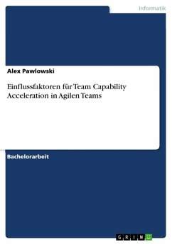 Einflussfaktoren für Team Capability Acceleration in Agilen Teams (eBook, ePUB)