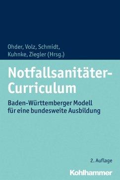 Notfallsanitäter-Curriculum (eBook, PDF)