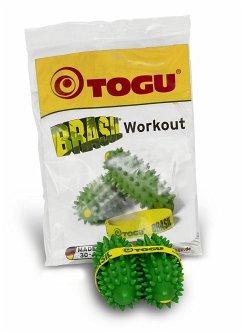 Togu 470636 - Brasil Workout, Sportgerät für Tiefenmuskulatur- und Ausdauertrainer, 2er Set