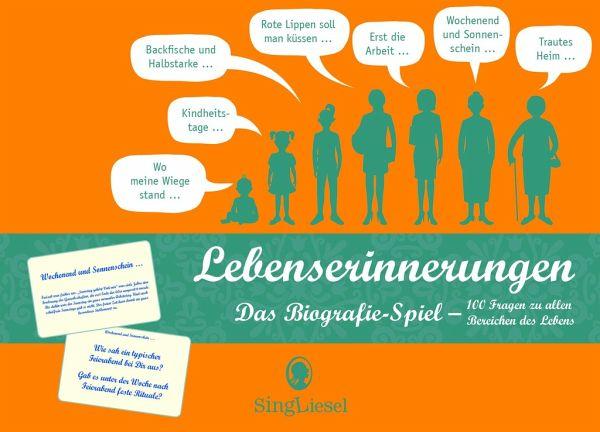 Lebenserinnerungen Das Biografie Spiel Bei Bücherde Immer Portofrei