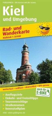 PublicPress Rad- und Wanderkarte Kiel und Umgebung