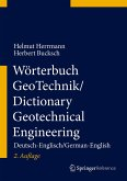 Wörterbuch GeoTechnik/Dictionary Geotechnical Engineering (eBook, PDF)