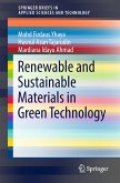 Renewable and Sustainable Materials in Green Technology (eBook, PDF)