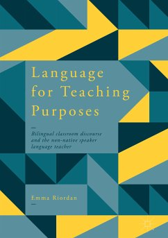 Language for Teaching Purposes (eBook, PDF) - Riordan, Emma